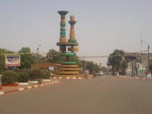 La place des cinéastes à Ouagadougou