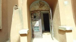 L'entrée de l'un des bâtiments de la cité universitaire de Zogona