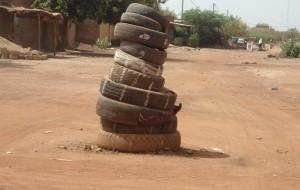 Rond-point de Ouaga (Crédit photo : Boukari Ouedraogo)