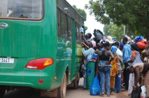 Article : Transport en commun à Ouagadougou : Sotraco toujours bourrée, toujours en retard