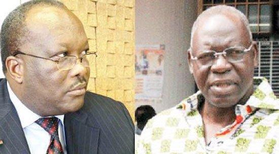 Roch Marc Christian Kaboré (gauche) et Salif Diallo sont les ténors des dissidents du CDP