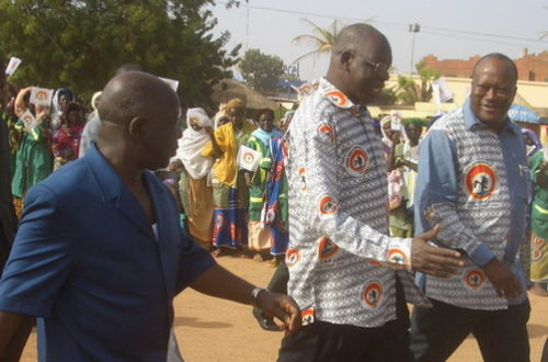 Article : Burkina : les députés CDP pro-Salif Diallo préparent un coup contre Blaise Compaoré