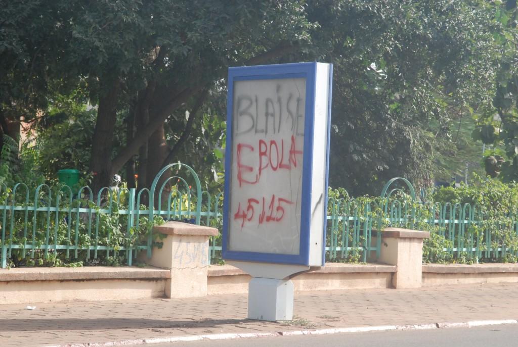 Blaise Compaoré Ebola