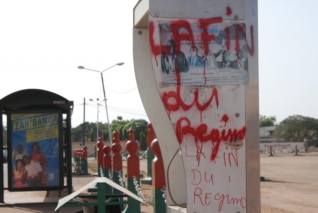 Les manifestants avaient déjà annoncé la fin du régime de Blaise Compaoré