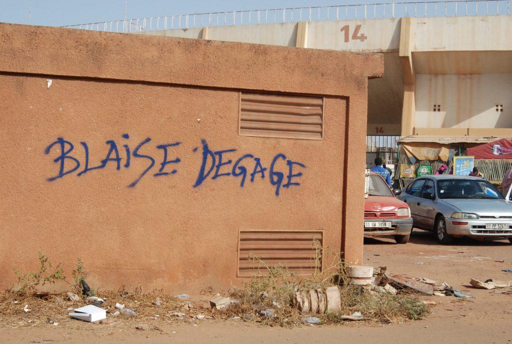 Les stigmates du soulèvement populaire au Burkina Faso