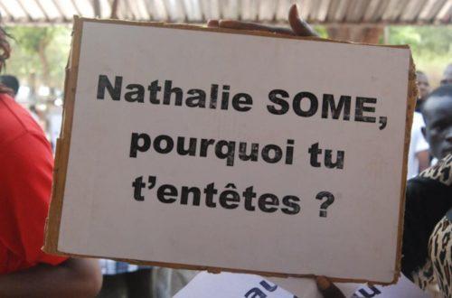 Article : Suspension des émissions interactives : Nathalie Somé tombe dans son propre piège