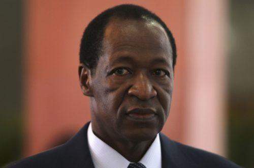 Article : Au cœur de la Présidentielle : Blaise Compaoré sera jugé selon les candidats