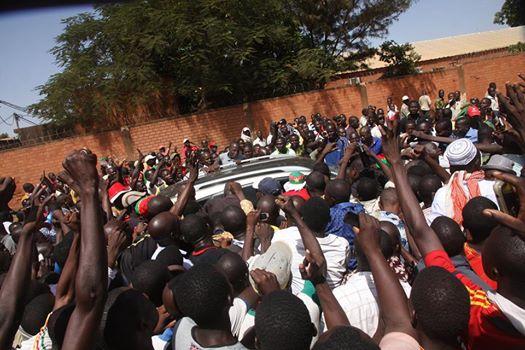 En conduisant Saran Séré Sérémé de force à la RTB, les manifestants croyaient en elle