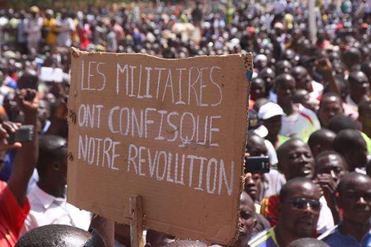 Les manifestants s'étaient opposé aux militaires le 2 novembre 2014
