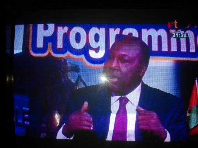 Zéphirin Diabré candidat présidentielle Burkina