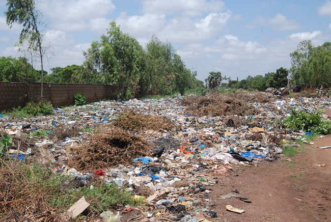 Les ordures sont sources de maladies