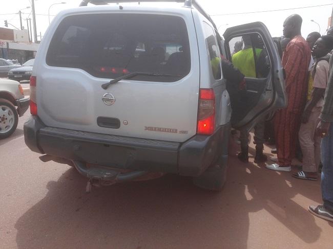 Le propriétaire de ce véhicule non immatriculé n'avait pas ses papiers quand il a été interpellé par la police
