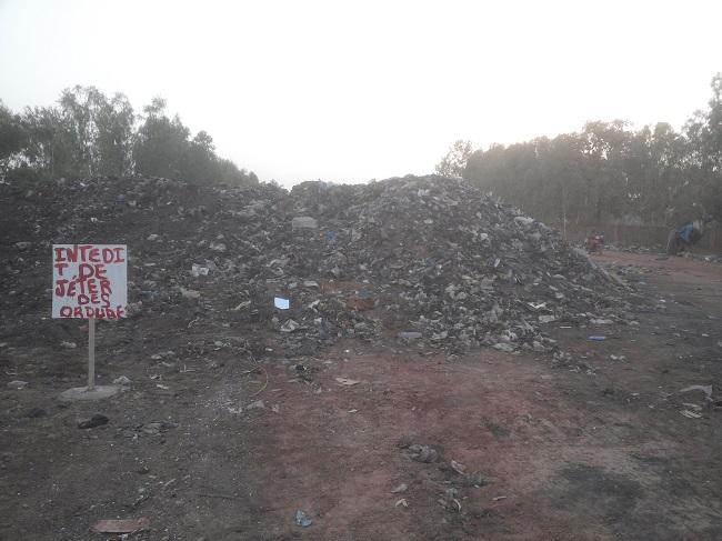 Rassemblées ainsi, l'on se rend compte de l'ampleur des ordures