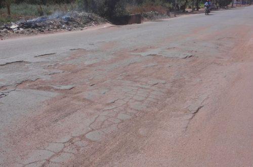 Article : Ouagadougou : Des routes pathétiques!