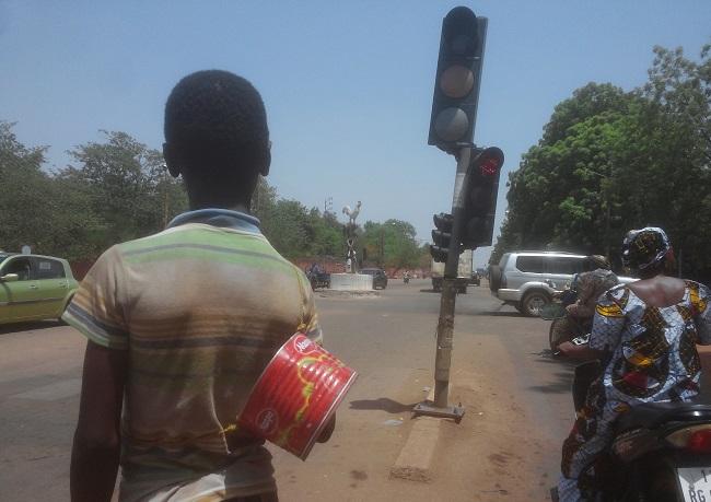 Les garibous sont visibles aux différents carrefours de Ouagadougou