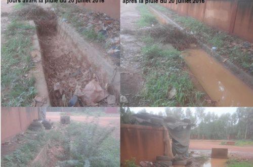 Article : A Ouagadougou, il y aura forcément des inondations !