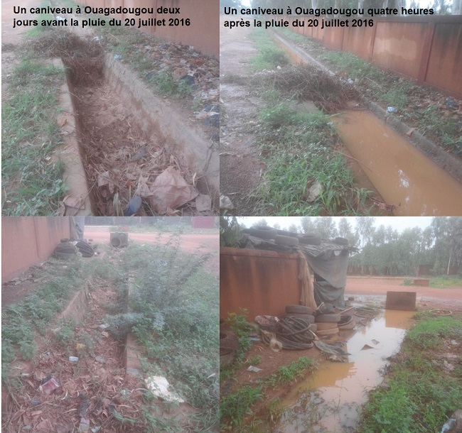 Caniveau inondation Ouagadougou1