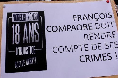Article : Justice pour Norbert Zongo : les années passent la même rengaine continue