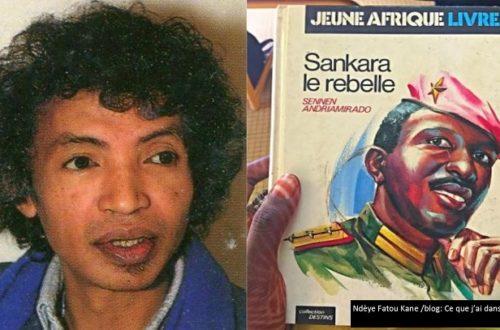Article : Madagascar: Sur les traces de l'auteur de « Sankara le rebelle »
