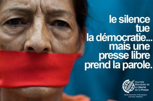 Article : Liberté de la presse : le Burkina mieux classé que les Etats-Unis