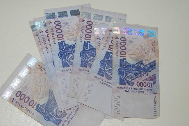 billet de banque franc cfa